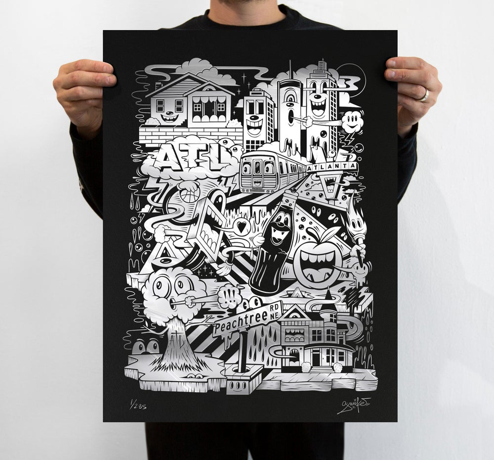 """Image of """"ON THE RISE"""" PRINT (CHROME EDITION)"""