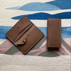 Image of Amber Wallet Chocolate Brown