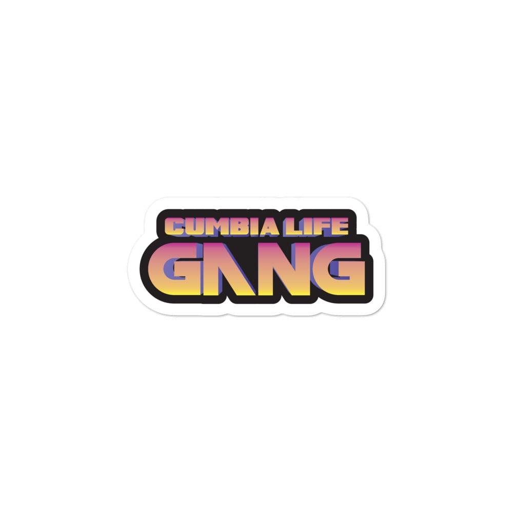 CUMBIA LIFE GANG Sticker