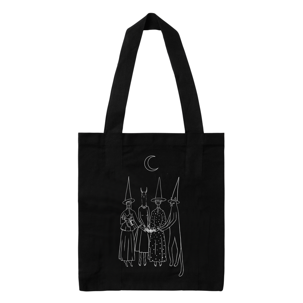 Image of Tote Bag negra Brujas
