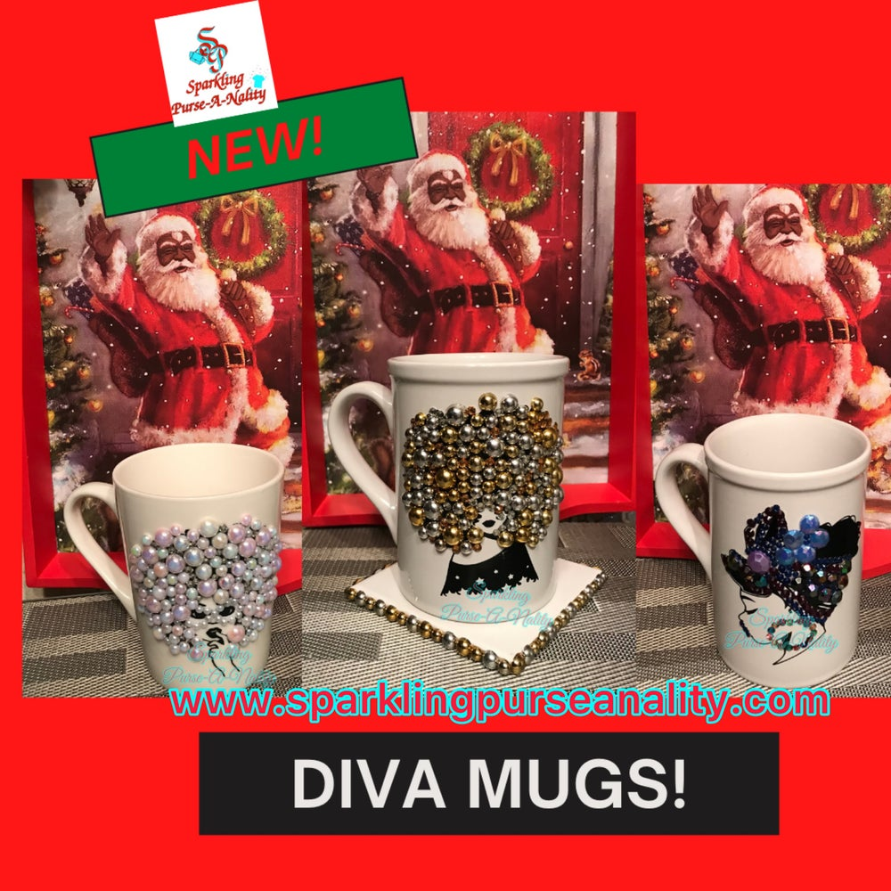 Image of Sparkling Diva Mugs