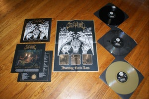 "Image of Occult Burial ""Burning Eerie Lore"" LP"