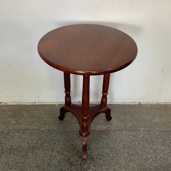 Image of MAHOGANY SIDE TABLE