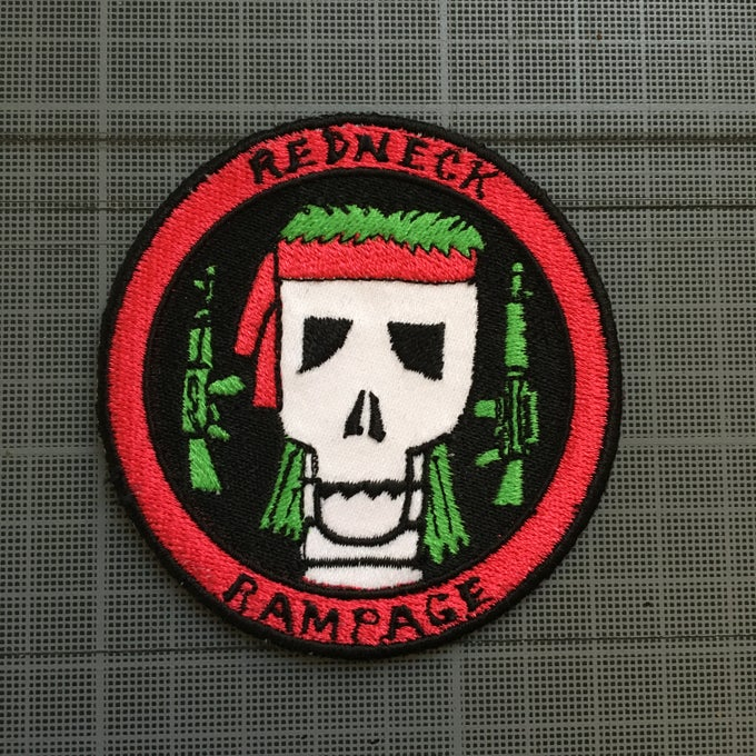 Image of REDNECK RAMPAGE PATCH