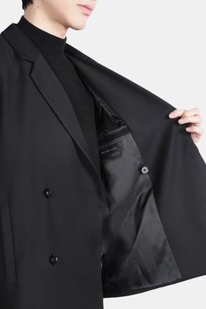 Image of IMMENSE - 雙排釦西裝外套 (黑)