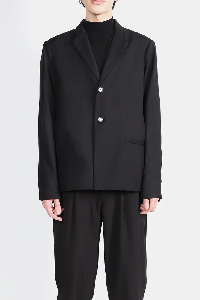 Image of IMMENSE - 單排釦西裝外套 (黑)