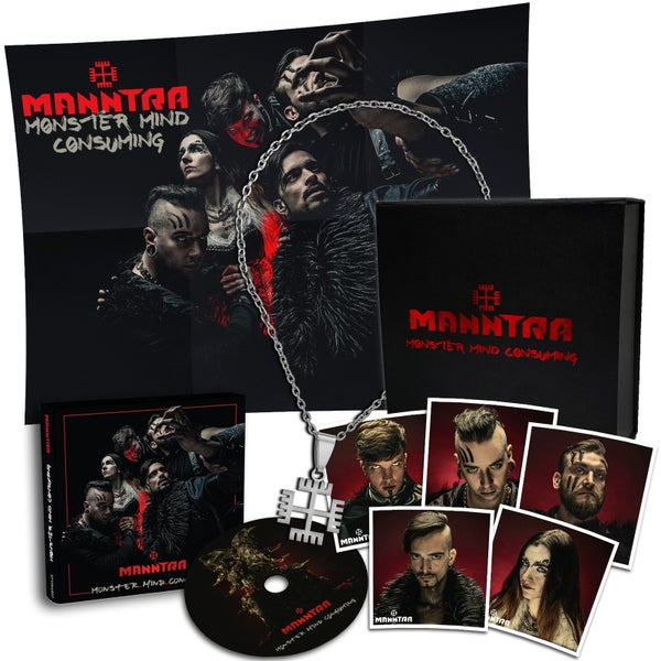 Image of Manntra - Monster Mind Consuming (Limited Fanbox) - LAST FEW PIECES!