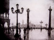 "Image of ""Rainy Day"", Venice, Italy"