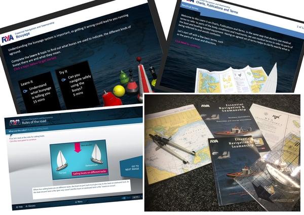 Image of RYA Online Essential Navigation & Seamanship Course