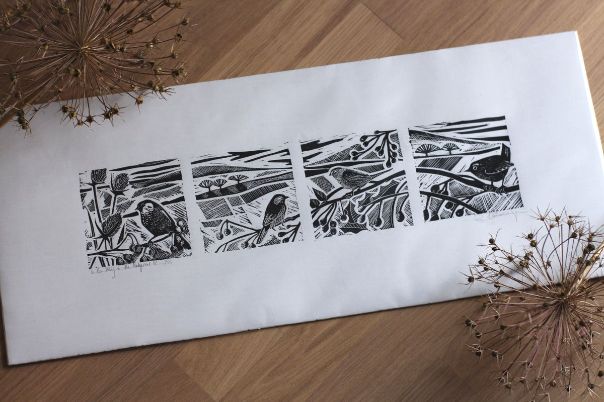 Image of In the hedgerow