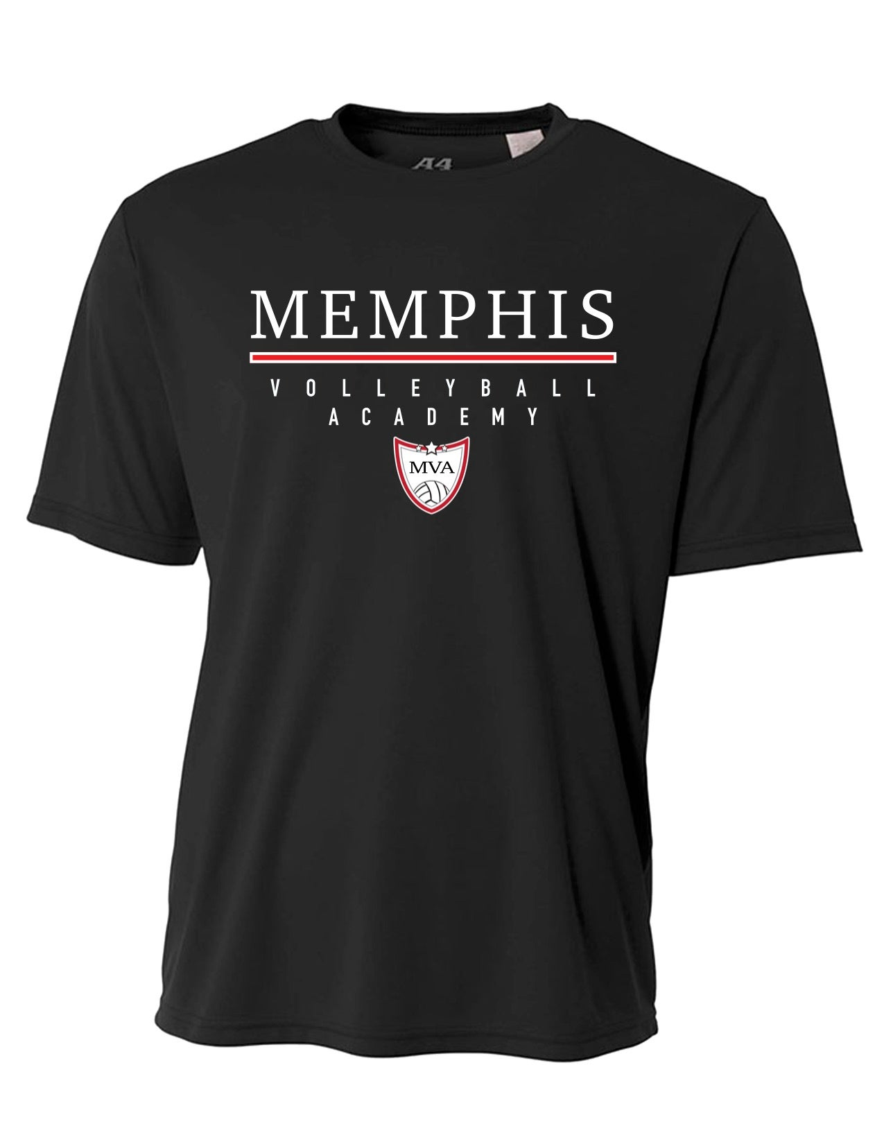Image of Memphis Volleyball Academy Performance Tee - (Multiple Color Options)