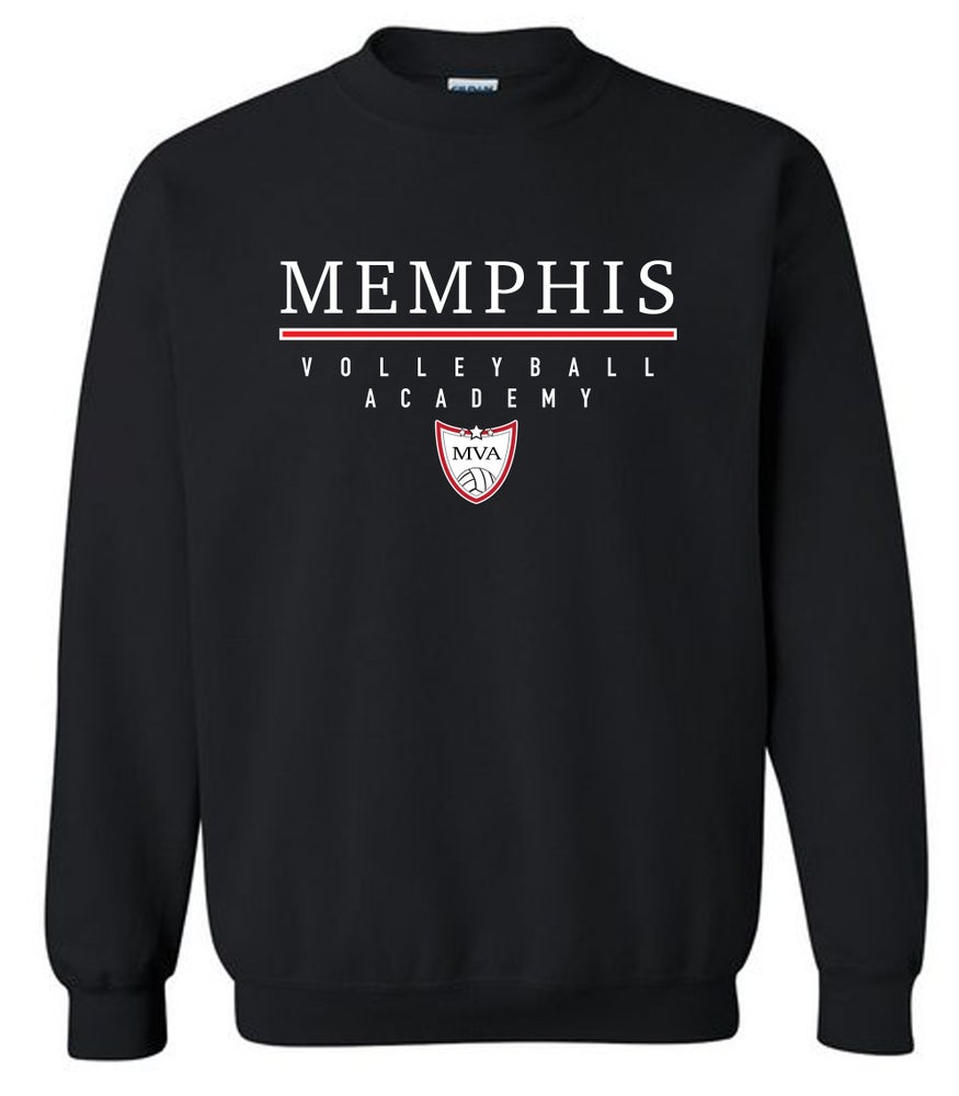 Image of Memphis Volleyball Academy Crew Sweatshirt - (Multiple Color Options)