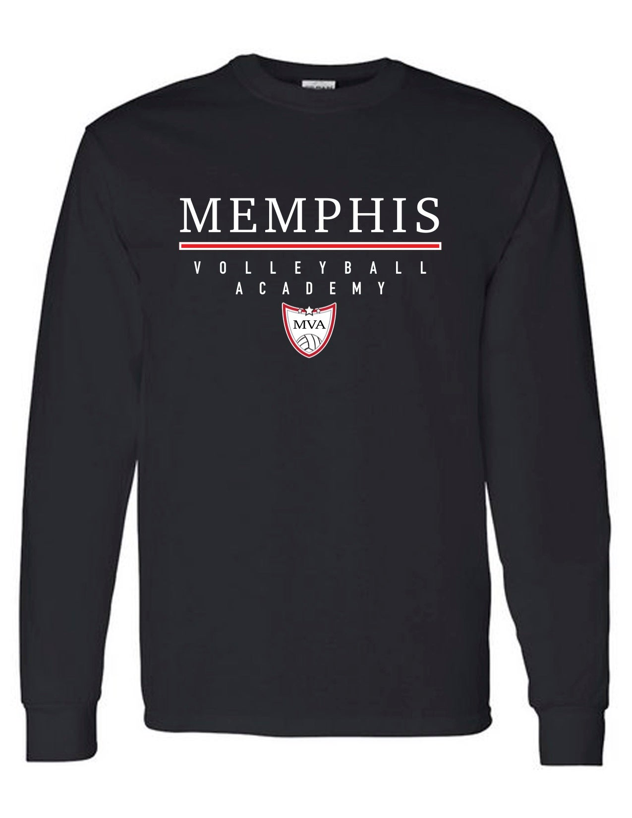 Image of Memphis Volleyball Academy Long Sleeve Tee - (Multiple Color Options)