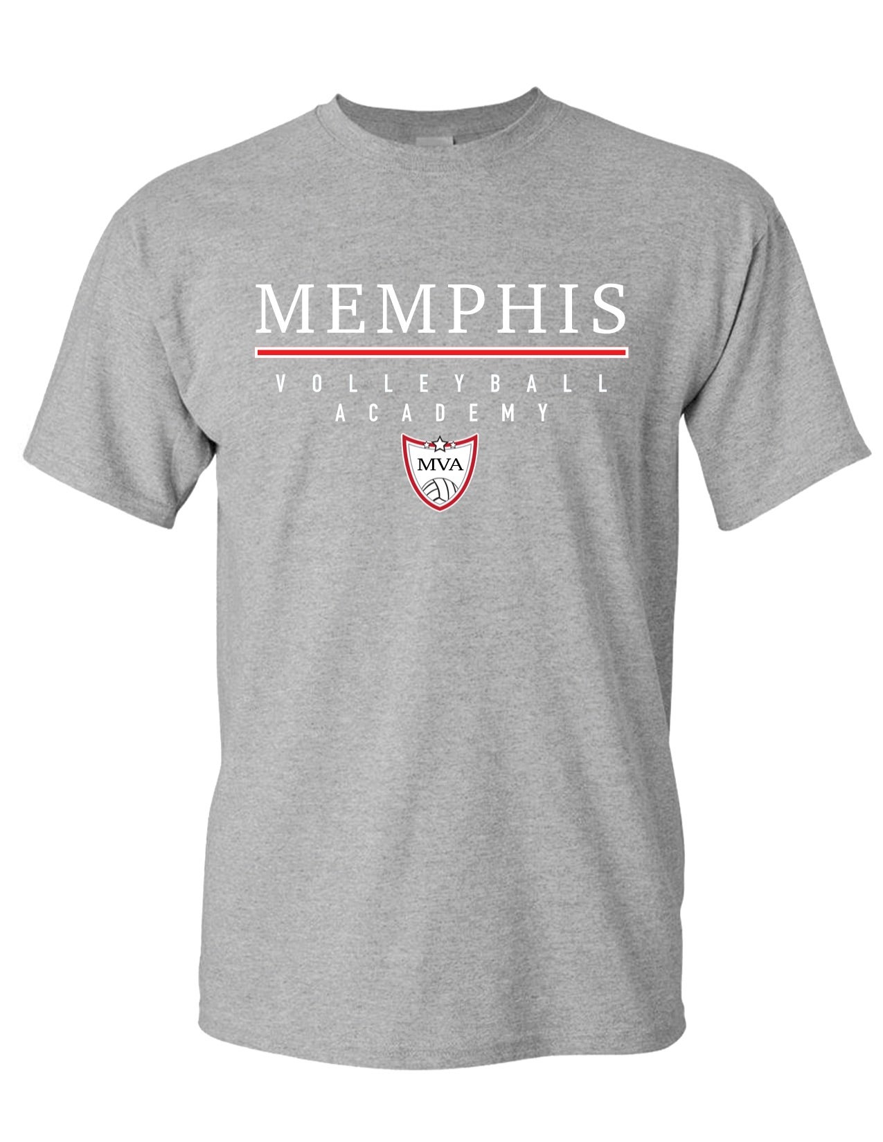Image of Memphis Volleyball Academy Tee - (Multiple Color Options)