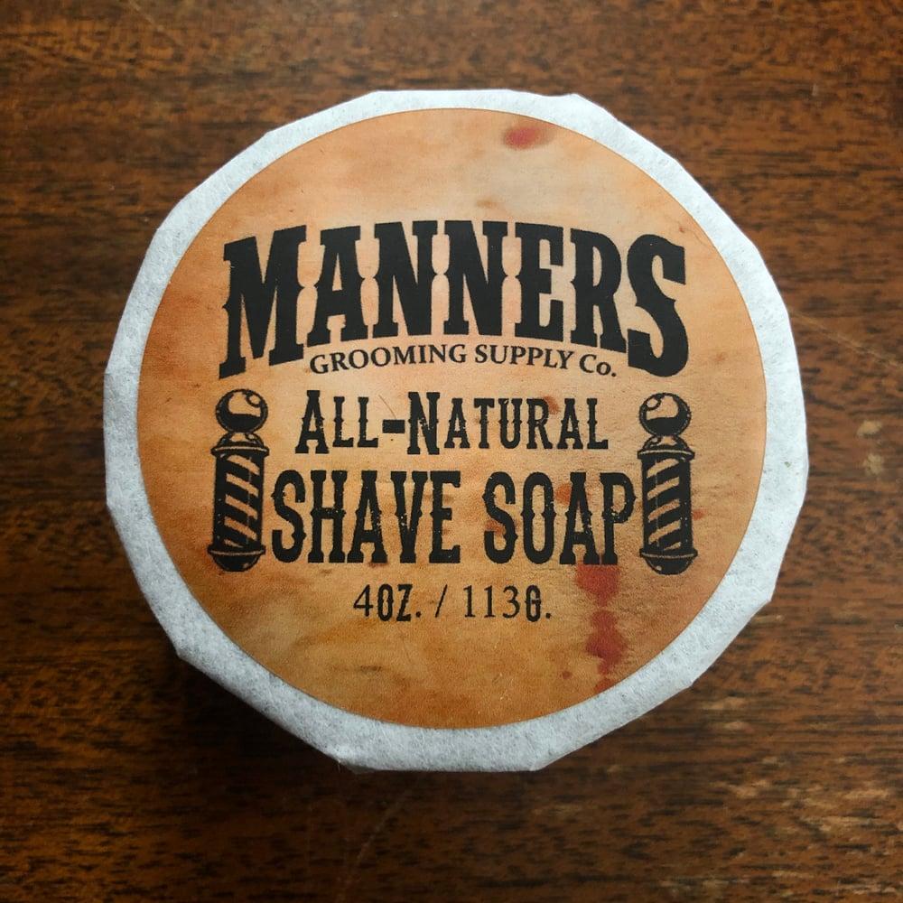 Image of SHAVING SET: Chrome Safety Razor, 4oz Shave Soap, Omega Shave Brush & 5pk of Blades