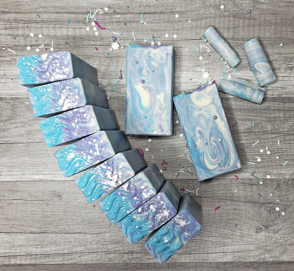 Image of UNDER THE SEA COLD PROCESS HANDMADE SOAP