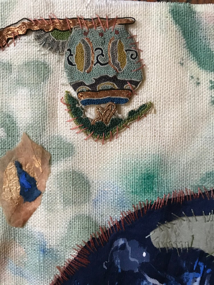Image of Blue Horse Embroidery