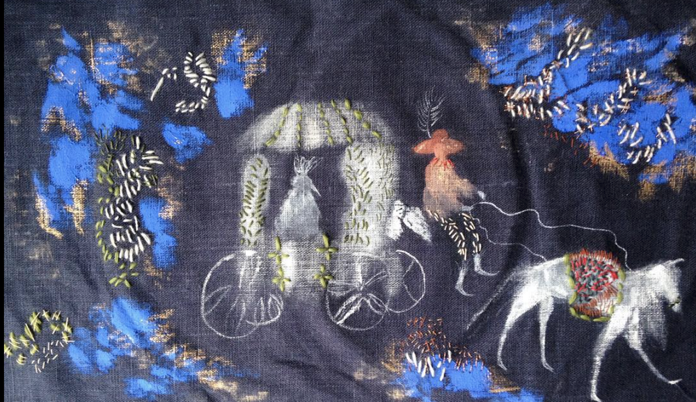 Image of Chicken's Wedding Embroidery