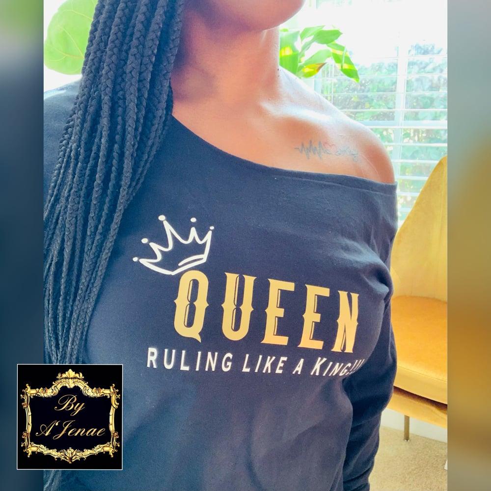 Image of QUEEN...King Off Shoulder Top