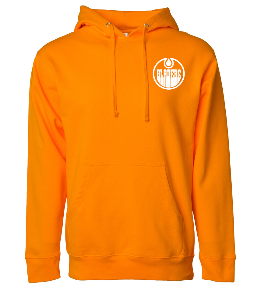 Image of Bladers Pullover Hoodie - Safety Orange - Unisex - Preorder