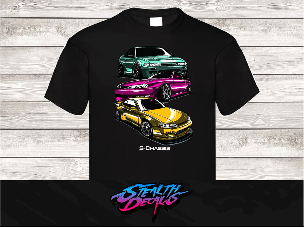 Image of S-chassis S13, S14, S15 T-shirt