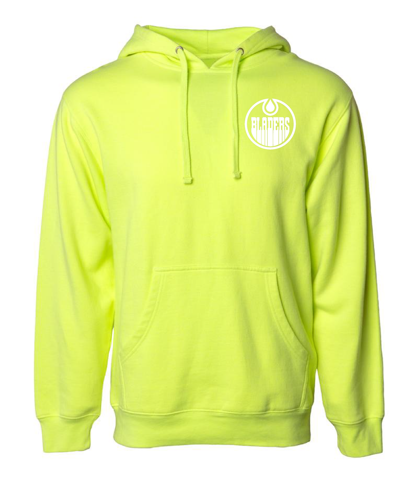 Image of Bladers Pullover Hoodie - Safety Yellow - Unisex - Preorder