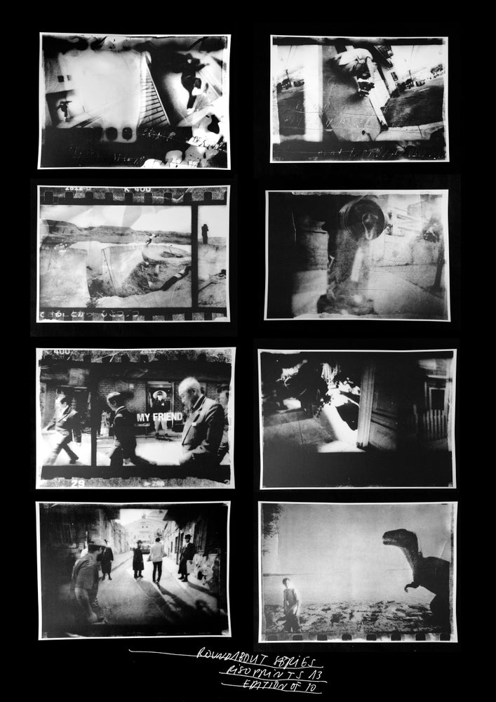 Image of Roundabout filmer / photographer series SPECIAL SET 8 - Edition (Riso)print