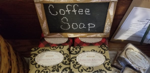 Image of Brazilian Coffee & Pure Cane Soap
