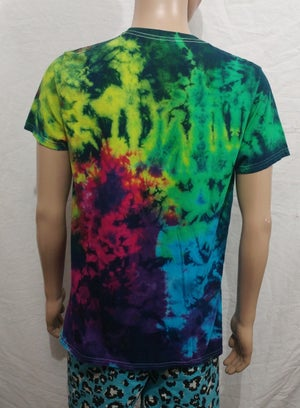 Image of Tie dye colored no future snow white size Large