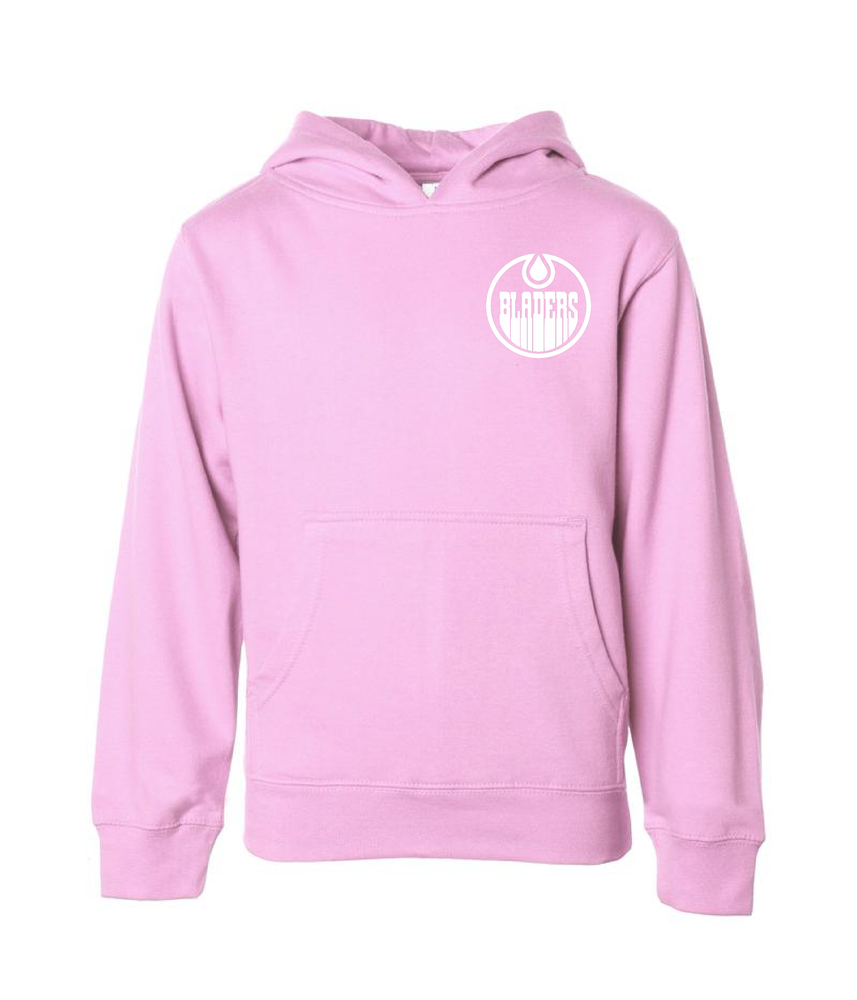 Image of Bladers Pullover Hoodie - Light Pink - Youth - Preorder