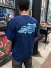 Navy Orca Shirt