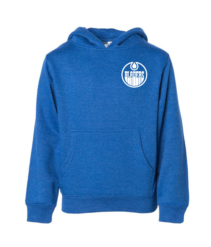 Image of Bladers Pullover Hoodie - Royal Heather - Youth - Preorder
