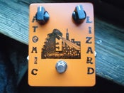 Image of DenTone Atomic Lizard Fuzz pedal  boutique box Hand Built in the USA