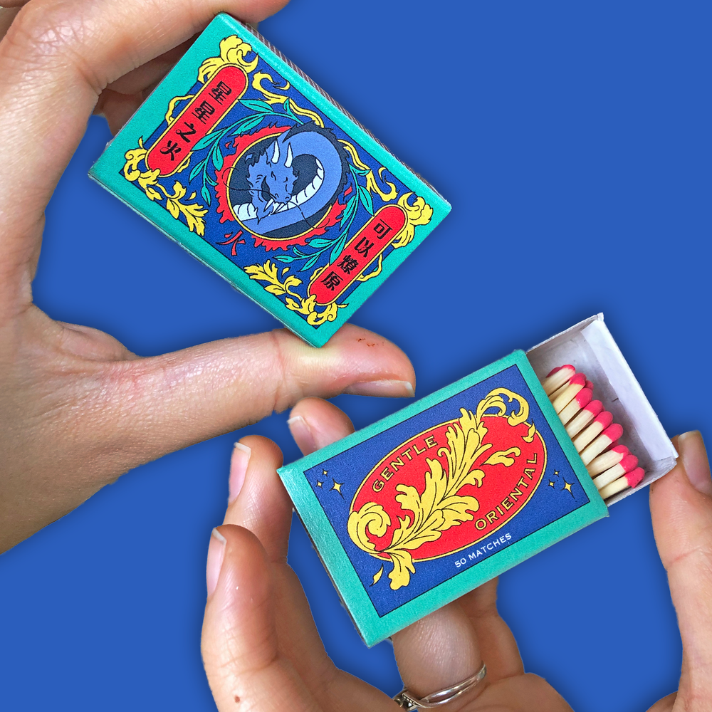 "Image of ""Single Spark"" Matchbox *Comes free w/ $20+ orders!*"