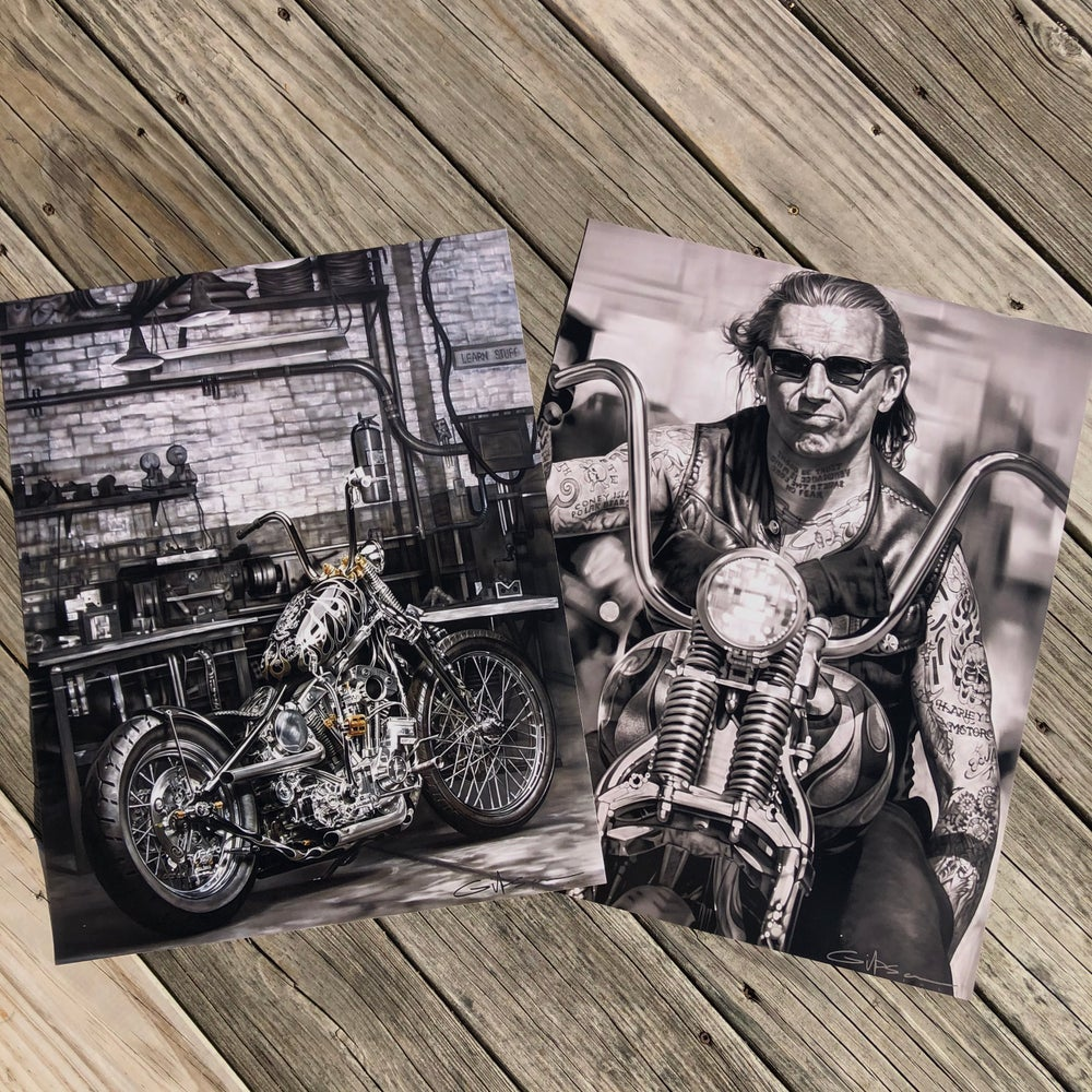 "Image of LIMITED TIME ""Solitude"" and ""American Original"" hand signed poster prints."