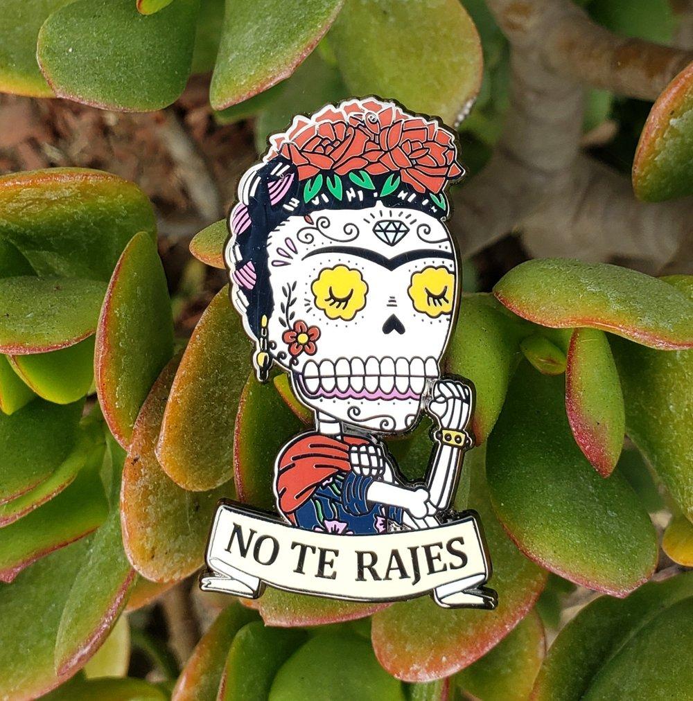 Frida the Riveter Enamel Pin