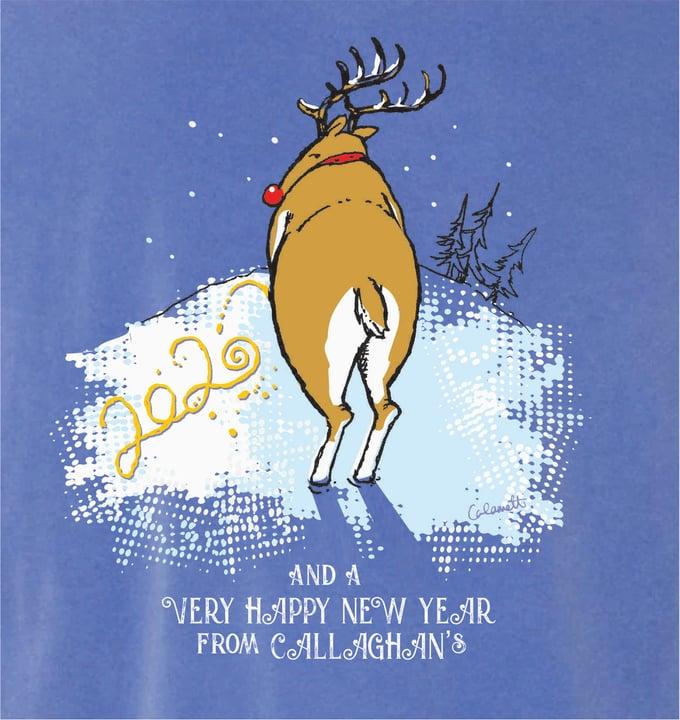 Image of Happy New Deer!