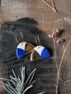Boucles d'oreilles Gruni demi-cercles