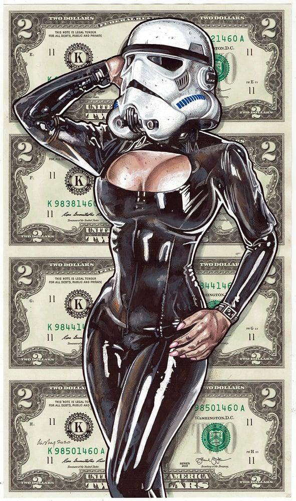 Image of Uncut 2 Dollars Original. Porn Trooper.