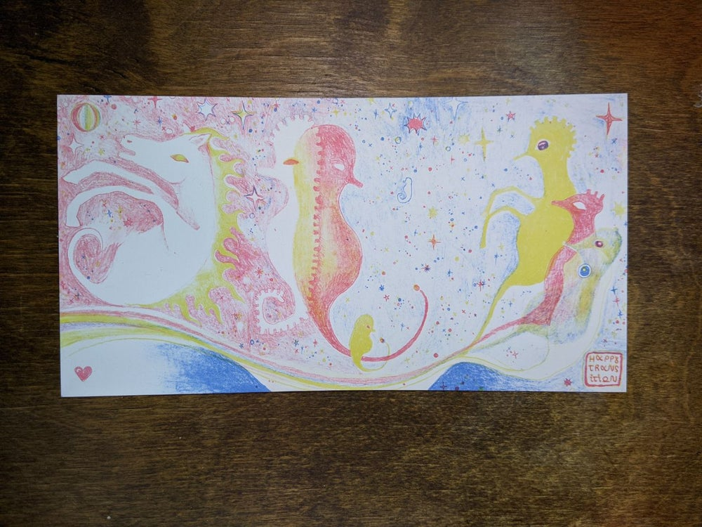 "Image of Print ""happy transition ♡"""