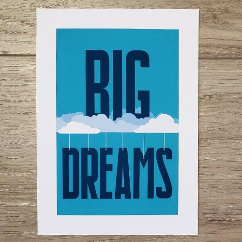 Image of Big Dreams Print