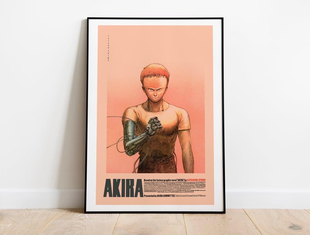 Tetsuo - Akira Anime Poster, Cyberpunk Movie Poster