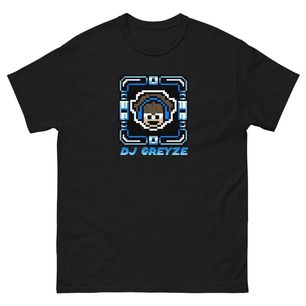 DJ Greyze Men's Tee (Mega Man Logo)