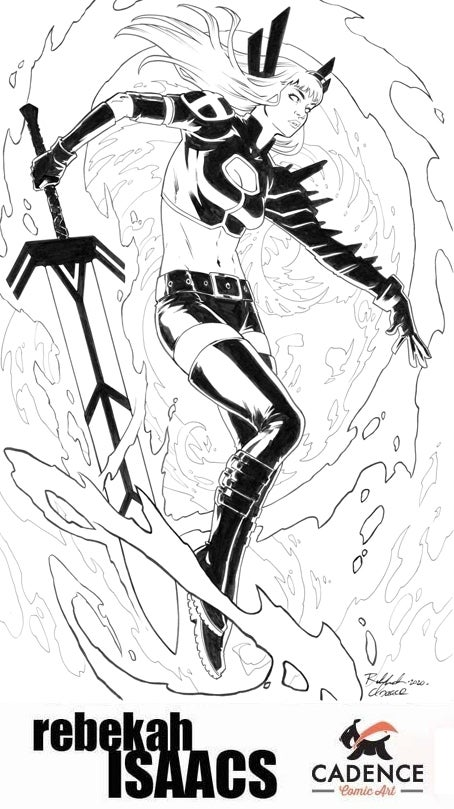 Image of Rebekah Isaacs Commission (Mail Order) Opens Friday 3/12/21 at 3PM EST
