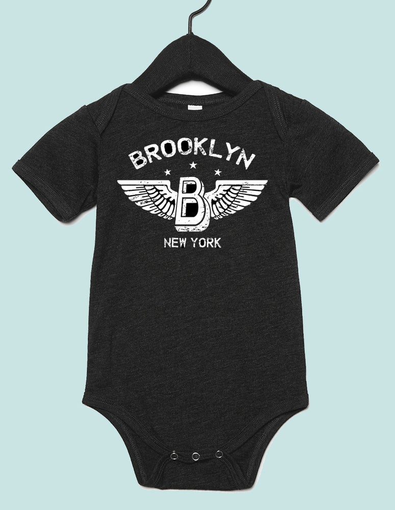 Image of Brooklyn Wings Onesie