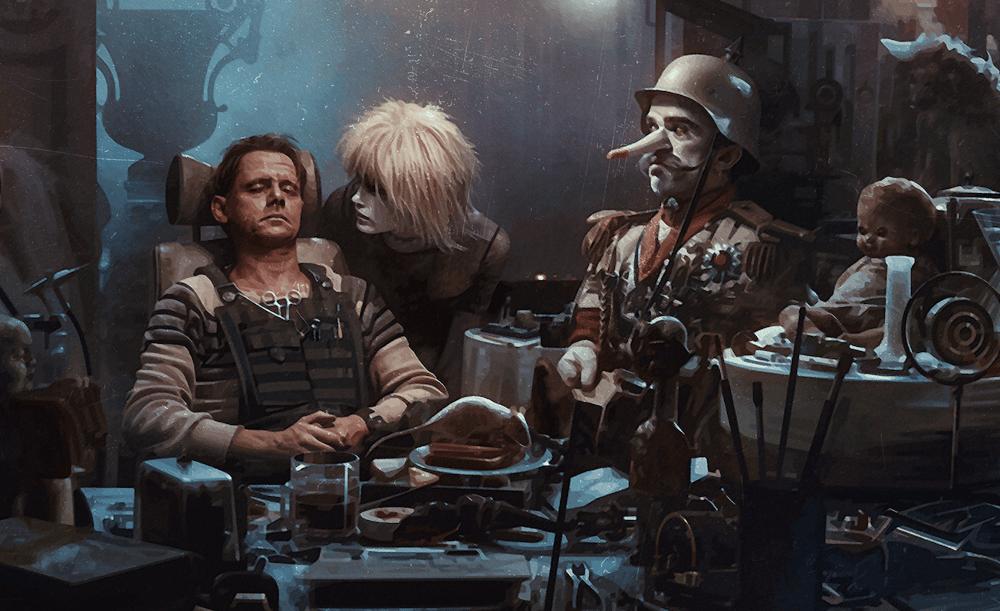 Blade Runner 1982 - J. F. Sebastian Toys, Cyberpunk Movie Poster