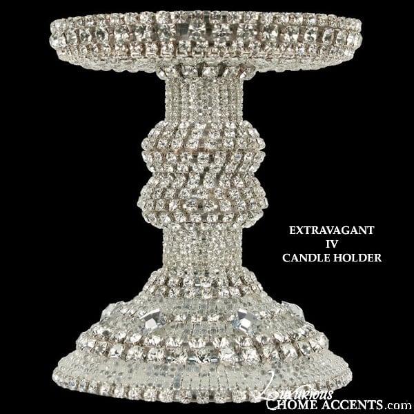 Image of  Swarovski Crystal Candle Holder Extravagant IV