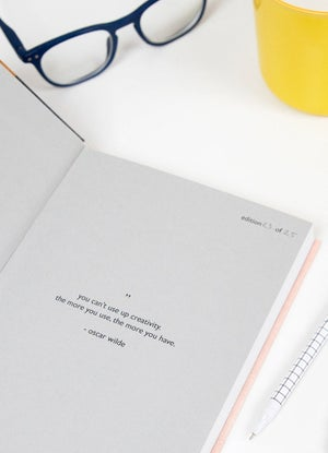 Image of Screen printed journal 042