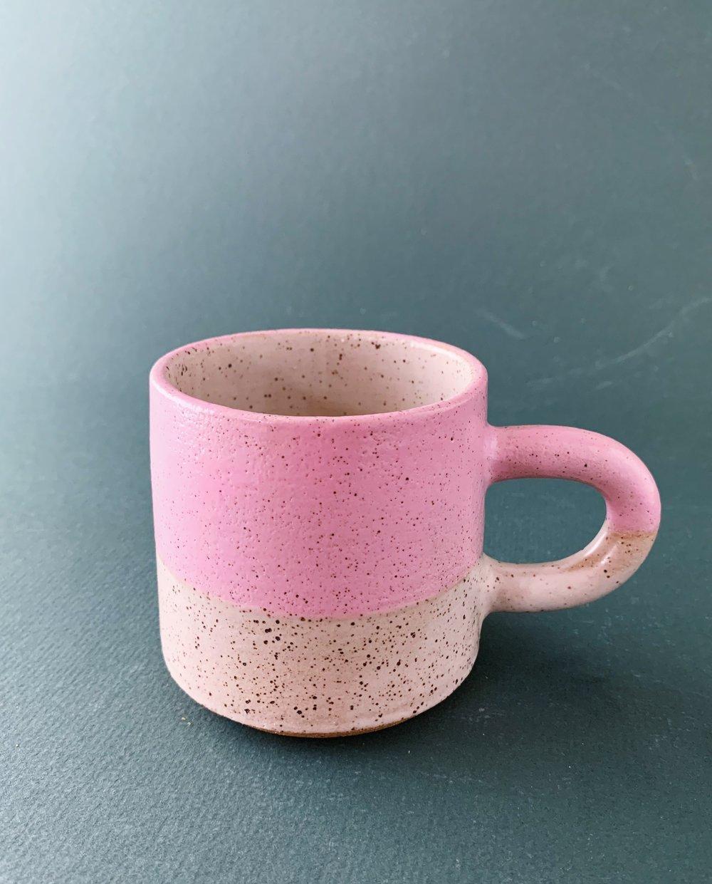Image of Pink/white mug