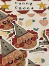 Funny Faces Sticker Pack